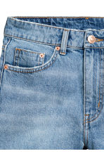 Denim shorts - Light denim blue - Ladies | H&M CN 4
