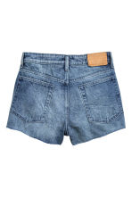 Denim shorts - Denim blue - Ladies | H&M CN 3