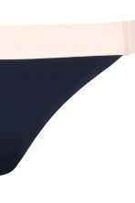 Bikini bottoms - Dark blue/Powder - Ladies | H&M CN 3