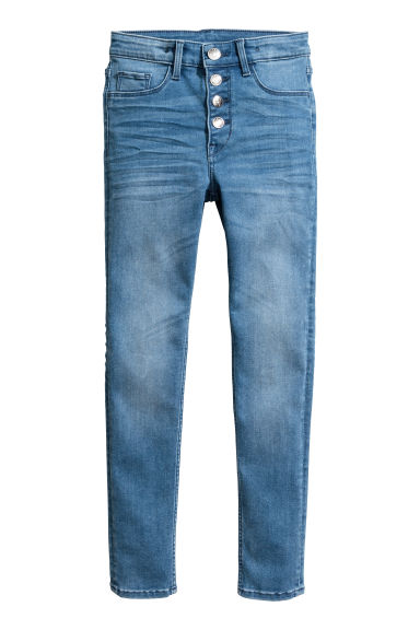 Skinny Fit Jeans - Denim blue - Kids | H&M 1