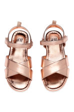 Sandals - Rose gold - Kids | H&M 1