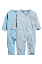 2件入連身睡衣 - Light blue - Kids | H&M 1