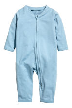 2-pack all-in-one pyjamas  - Light blue - Kids | H&M CN 2