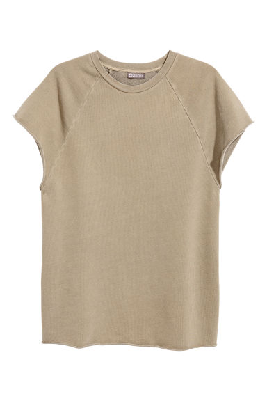 Short-sleeved sweatshirt - Mole - Men | H&M