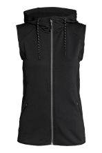 Fleece gilet - Black - Ladies | H&M 2