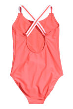 Printed swimsuit - Coral pink -  | H&M 2