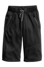 Sweatshirt shorts - Black -  | H&M 2