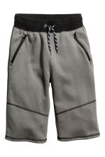 Shorts in felpa - Grigio scuro -  | H&M IT 2