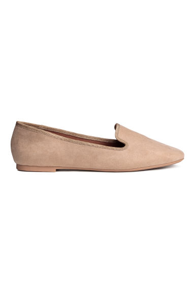 Loafers - Light beige - Ladies | H&M GB 1