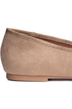 Loafers - Light beige - Ladies | H&M 4