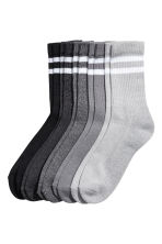5-pack socks - Grey/Black - Men | H&M 1
