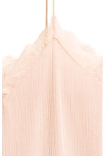 Jersey top with lace - Powder - Ladies | H&M 3