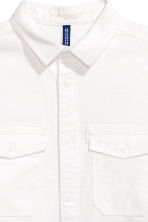 Utility shirt - White - Men | H&M IE 3