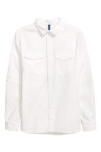 Utility shirt - White - Men | H&M IE 2