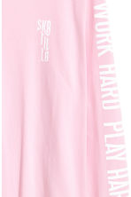 Long-sleeved T-shirt - Light pink - Men | H&M 3