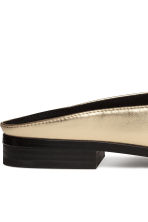 Backless loafers - Gold - Ladies | H&M GB 4
