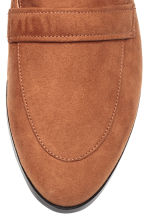Backless loafers - Cognac brown - Ladies | H&M 3