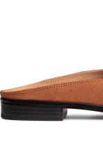 Backless loafers - Cognac brown - Ladies | H&M CA 4