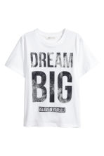 Printed T-shirt - White - Kids | H&M 2