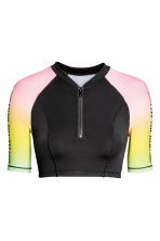 Surf top - Black/Multicolored - Ladies | H&M CN 2