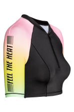 Surf top - Black/Multicolored - Ladies | H&M CN 3
