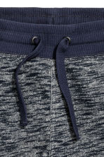 Sweatshirt shorts - Dark blue marl - Kids | H&M CN 3