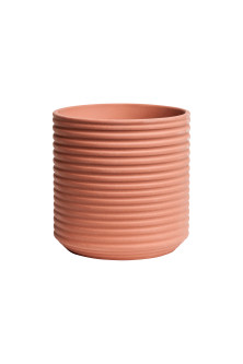 Small terracotta plant pot