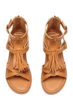 Sandals with tassels - Camel - Kids | H&M CA 2
