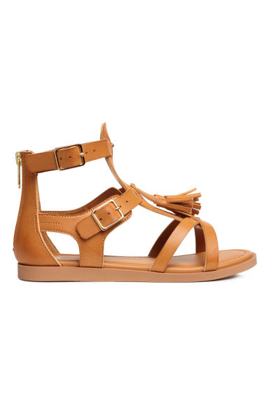 Sandals with tassels - Camel - Kids | H&M CA 1