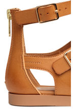 Sandals with tassels - Camel - Kids | H&M 4