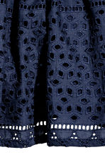 Embroidered skirt - Dark blue - Kids | H&M CN 2