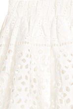 Embroidered skirt - White - Kids | H&M CN 2