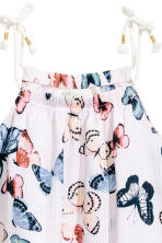 Seersucker dress - White/Butterflies - Kids | H&M 3