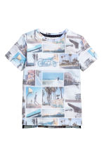 Printed T-shirt - White/Photo - Kids | H&M CN 2