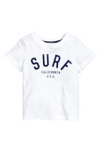 Printed T-shirt - White - Kids | H&M CN 2