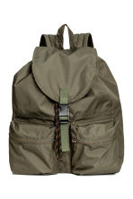 Drawstring backpack - Khaki green - Men | H&M 1
