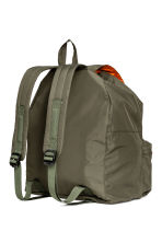 Drawstring backpack - Khaki green - Men | H&M 2