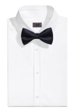 Silk bow tie - Dark blue - Men | H&M CN 1