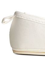 Ballet pumps - White -  | H&M 3