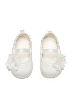 Ballet pumps - White -  | H&M 1
