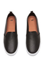 Slip-on trainers - Black - Ladies | H&M CN 2