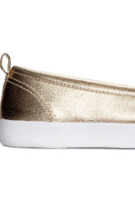 Slip-on trainers - Gold - Ladies | H&M 4