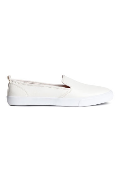 Slip-on trainers - White - Ladies | H&M 1