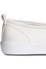 Slip-on trainers - White - Ladies | H&M 4