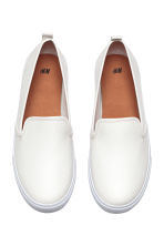 Slip-on trainers - White - Ladies | H&M 2
