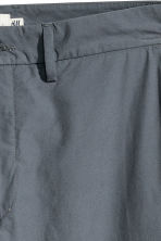 Cotton chinos - Dark grey-blue - Men | H&M CN 2