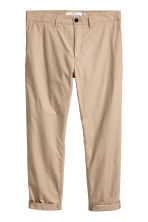 Katoenen chino - Beige - HEREN | H&M BE 1
