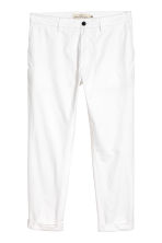 Cotton chinos - White - Men | H&M 2