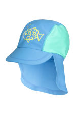 Sun cap with UPF 50 - Blue - Kids | H&M 1