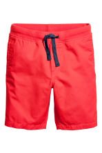 Twill shorts - Coral red -  | H&M 2